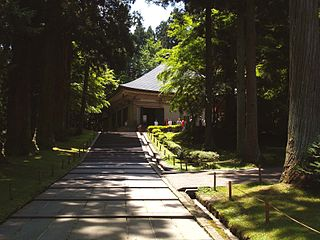 Buddhist temple in Iwate Prefecture, Japan