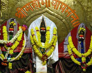 Kuknur - Gurbha Gudi in MahaMaya Temple