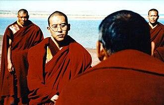Kundun - The Dalai Lama as portrayed in the film as a young man.