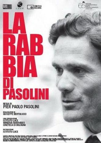 La rabbia - Image: La rabbia 1963 film poster