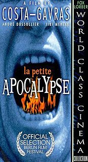 <i>The Little Apocalypse</i> (1993 film) 1992 film by Costa-Gavras