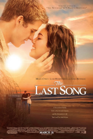 The Last Song (film) - Theatrical release poster