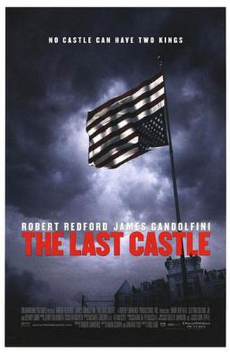 The Last Castle - The original poster that was pulled out of circulation