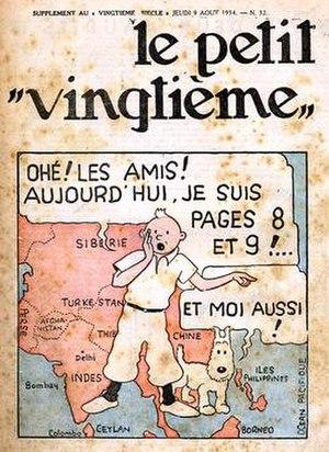 Le Petit Vingtième - Le Petit Vingtième, number 32 from 1934
