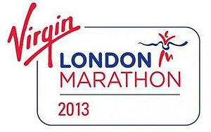 2013 London Marathon - Image: London Marathon 2013 logo