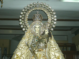 Our Lady of Manaoag - Image: Manaoag close up