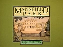 Alt=Series titles and a drawing of Mansfield Park