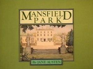Mansfield Park 1983 TV serial titlecard
