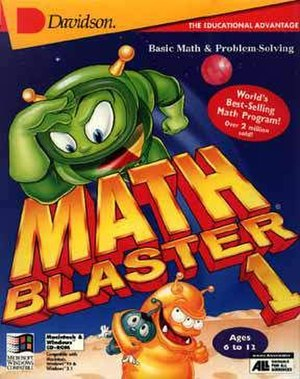 Math Blaster Episode I: In Search of Spot - Image: Math Blaster Episode 1 Cover