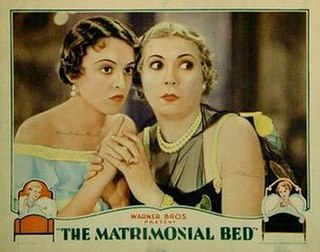 <i>The Matrimonial Bed</i> 1930 film by Michael Curtiz