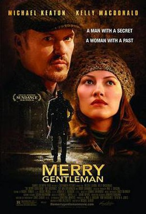 The Merry Gentleman - Theatrical release poster