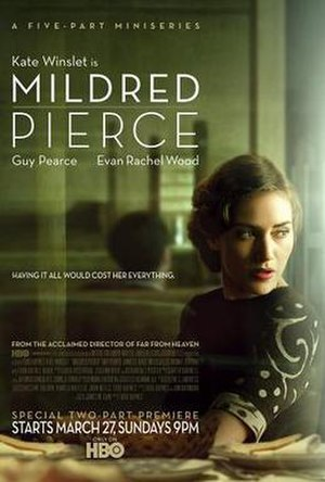 Mildred Pierce (miniseries) - Official poster of the miniseries released by HBO.