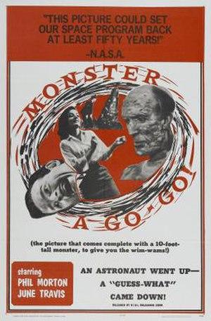 Monster a Go-Go - Original theatrical release poster
