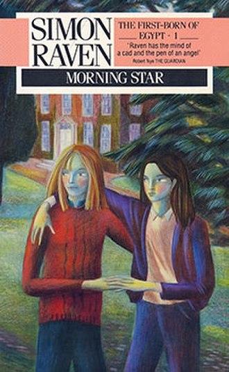 Morning Star (Raven novel) - First edition Morning Star book cover