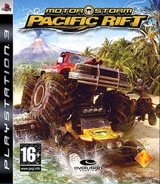 MotorStorm: Pacific Rift - Image: Motor Storm Pacific Rift