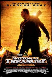 <i>National Treasure</i> (film) 2004 American adventure heist film