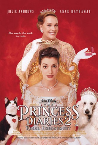 The Princess Diaries 2: Royal Engagement - Theatrical release poster