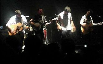 "Guster - Guster performing ""Jesus on the Radio (unplugged)"" at Ohio State University in 2006"