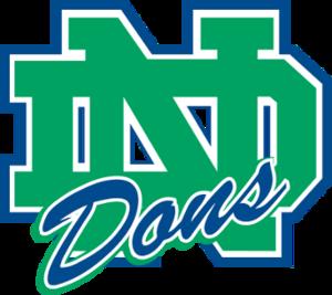 Notre Dame College Prep - Image: NDH Slogo