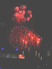Fireworks, NDP 2005