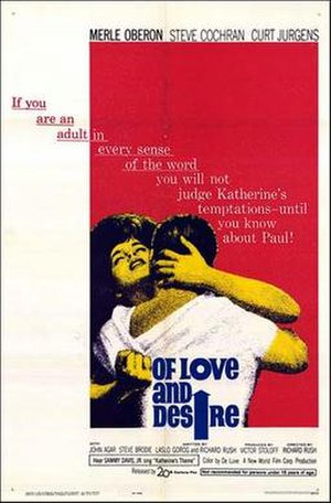 Of Love and Desire - Theatrical poster