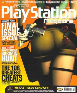 PlayStation Official Magazine – UK - Issue 108 (March 2004) - The final edition of Official UK PlayStation Magazine, with Lara Croft on the cover.