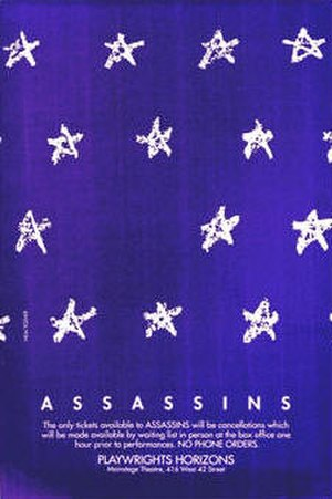 Assassins (musical) - Off-Broadway Promotional Poster