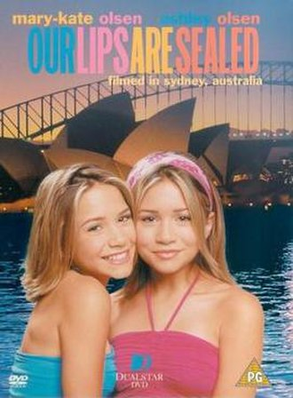 Our Lips Are Sealed (film) - DVD Cover