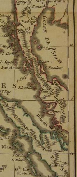 Pattani Kingdom - Patani 1782
