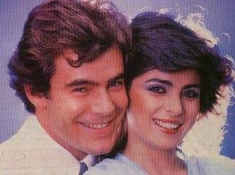 La fiera - Guillermo Capetillo and Victoria Ruffo in the soap opera