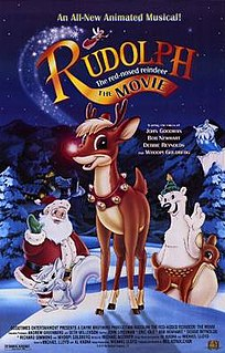 <i>Rudolph the Red-Nosed Reindeer: The Movie</i> 1998 animated film