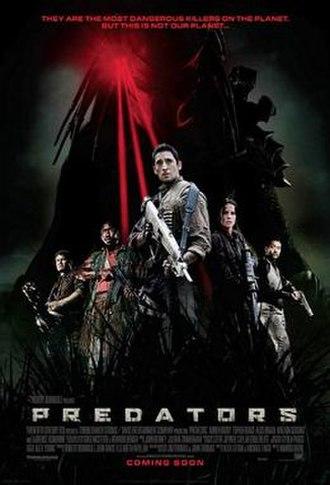 Predators (film) - Theatrical release poster