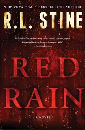 Red Rain (novel) - First edition cover