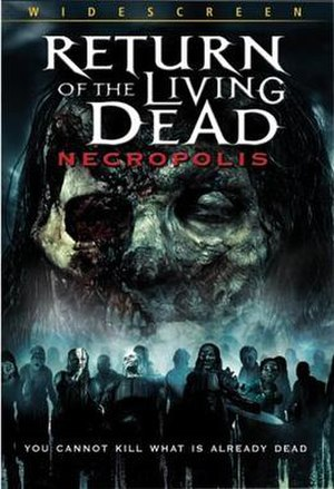Return of the Living Dead: Necropolis - DVD cover