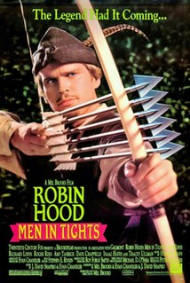 <i>Robin Hood: Men in Tights</i> 1993 US comedy film directed by Mel Brooks