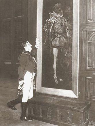 Henry Lytton - Lytton as Sir Ruthven in Ruddigore