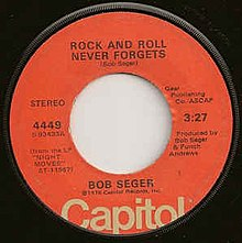 Download rock and roll never forgets sheet music by bob seger.