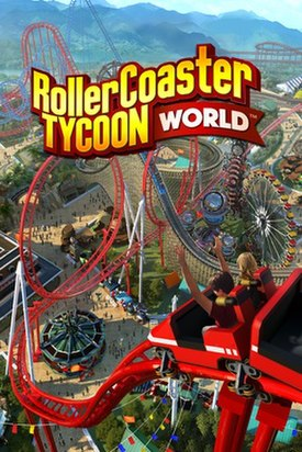 RollerCoaster Tycoon World cover art.jpg