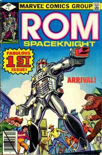 Rom (comics) - Image: Rom 1