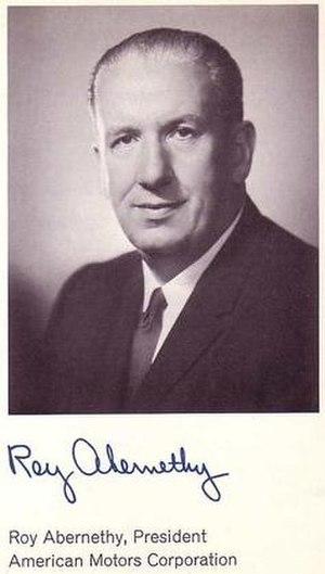 Roy Abernethy - Image: Roy Abernethy AMC executive