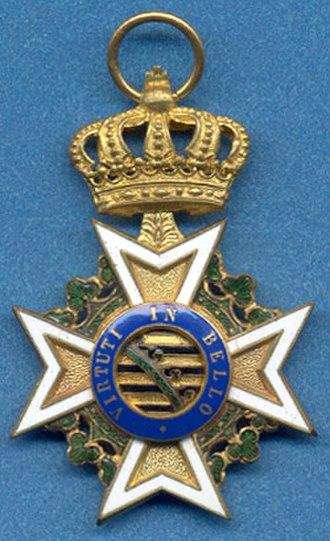 Military Order of St. Henry - Image: SH3SSrev