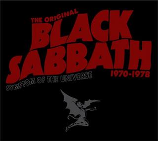 <i>Symptom of the Universe: The Original Black Sabbath 1970–1978</i> 2002 greatest hits album by Black Sabbath