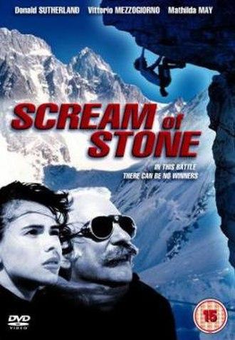 Scream of Stone - Image: Scream of Stone Film Poster