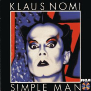 Simple Man (Klaus Nomi album) - Image: Simple Man Album