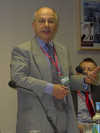 Jeremy Beecham, Baron Beecham - Image: Sir Jeremy Beecham (Labour Party Conference, October 2005)