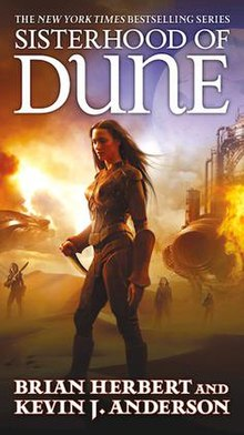 Sisterhood of Dune 2012 1st ed.jpg