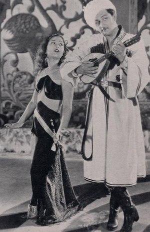 Watan (film) - Sitara Devi and Kumar in Watan