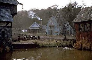 Sleepy Hollow (film) - Image: Sleepy Hollow set