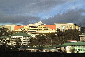 SM City Baguio - View of SM City Baguio from Burnham Park