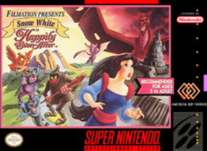 Snow White: Happily Ever After (video game) - Cover art